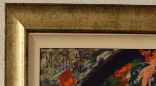 Virginia Creeper by Timmy Mallett Original Oil on Canvas image-2