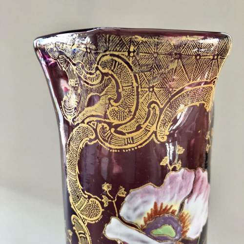 Amethyst Glass Vase by Legras image-3