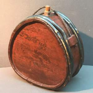 19th Century Swedish Wooden Water Carrier