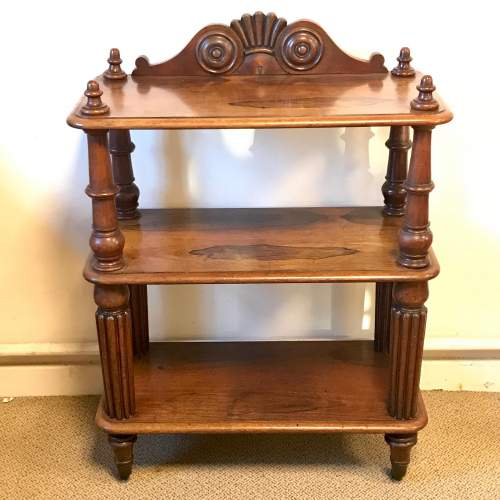 Victorian Rosewood Whatnot image-1