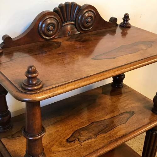 Victorian Rosewood Whatnot image-4