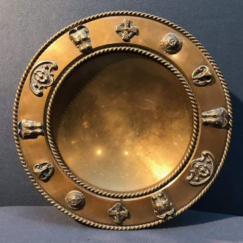19th Century Brass Tazza image-4