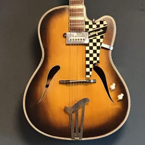 1950s Migma German Electric Guitar image-3