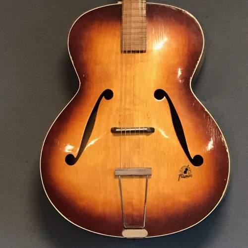Vintage 1950s Frames German Guitar image-3