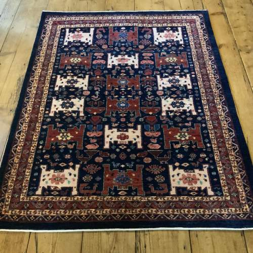 Superb Persian Hand Knotted Rug Bulurbaft Fine Quality image-1