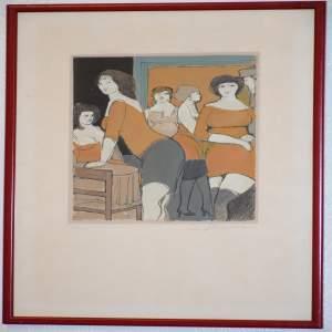 Worth Point by David Schneuer 1905 – 1988  48/250