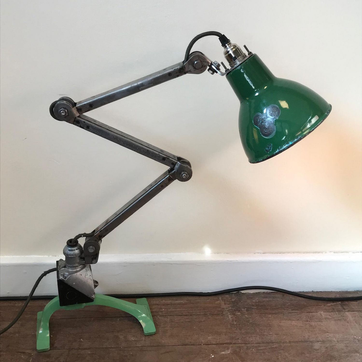 Pleasing Industrial Upcycled Anglepoise Lamp Antique Lighting Hemswell Wiring 101 Bdelwellnesstrialsorg