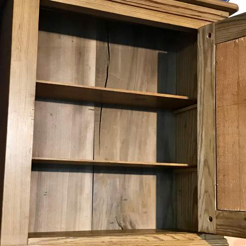 French Pitch Pine Wall Cabinet image-4
