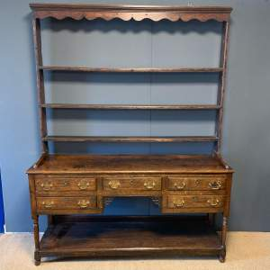 18th Century Georgian Oak Dresser