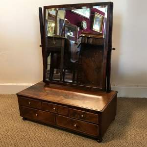 Victorian Multi Drawer Dressing Table Mirror