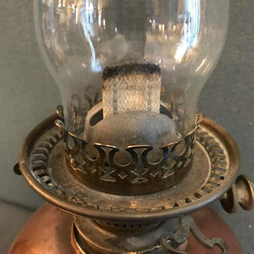 Copper and Brass Oil Lamp image-3