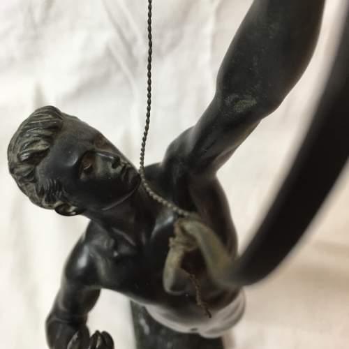 19th Century Bronze Figure Hercules by Joseph Upheus image-2