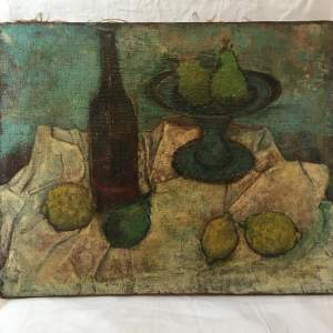 Early 20th Century Still Life Oil on Canvas