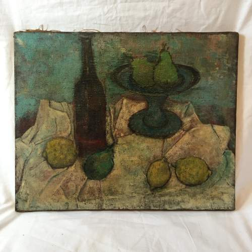 Early 20th Century Still Life Oil on Canvas image-2