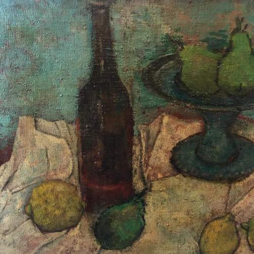 Early 20th Century Still Life Oil on Canvas image-3