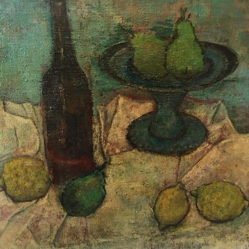 Early 20th Century Still Life Oil on Canvas image-4