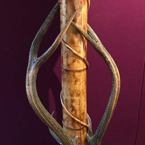 19th Century Boho Style Bamboo Lectern image-2