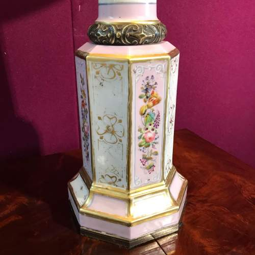 19th Century French Porcelain Lamp image-2