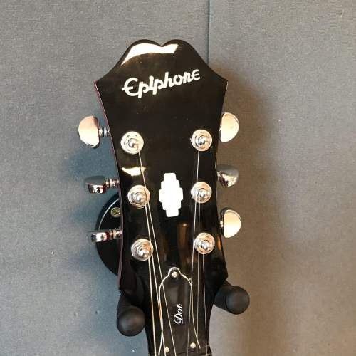 Epiphone Dot Red Semi Acoustic Guitar image-3