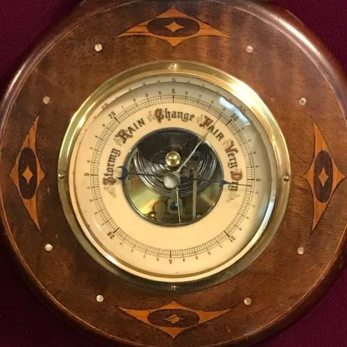 19th Century Aneroid Barometer by Lufte of Germany image-4