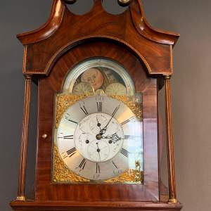 Wells of Shepley 8 Day Grandfather Clock