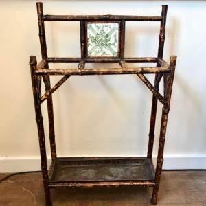 Victorian Bamboo Walking Stick Stand