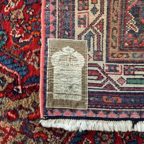 Hand Knotted Persian Rug Tadjabad A Hamadan Village image-4