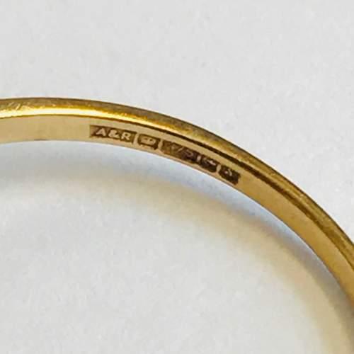 9ct Gold Garnet Opal Cluster Ring image-4