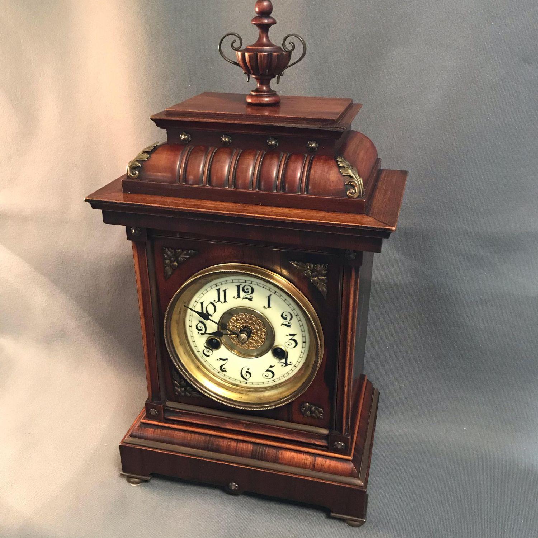 Victorian German 8 Day Bracket Clock