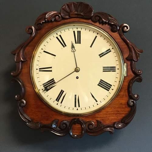 19th Century Fusee Wall Clock image-1