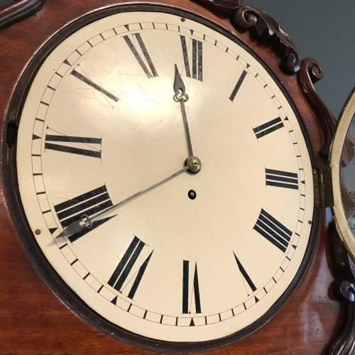 19th Century Fusee Wall Clock image-2