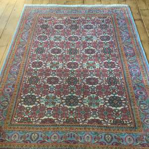 Hand Knotted Persian Rug Kirman