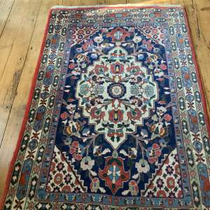 Beautiful Old Hand Knotted Persian Rug Farahan