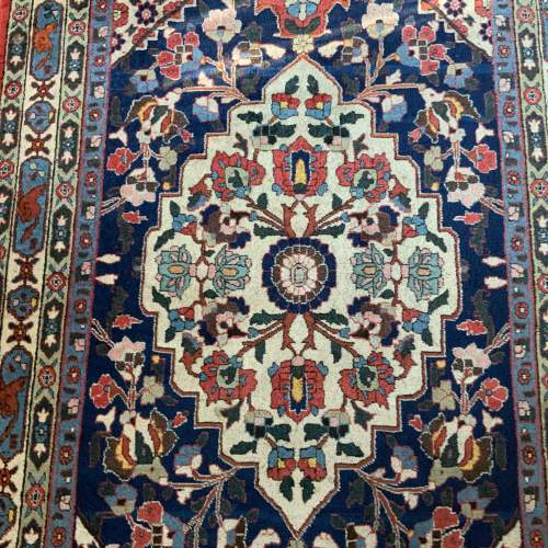 Beautiful Old Hand Knotted Persian Rug Farahan image-2