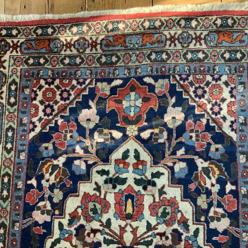 Beautiful Old Hand Knotted Persian Rug Farahan image-3