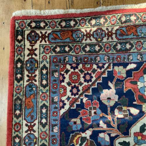Beautiful Old Hand Knotted Persian Rug Farahan image-5