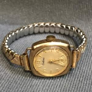 Certina 9ct Gold Ladies Watch