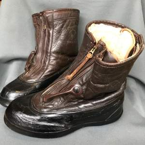 WWII US Navy Converse Sheepskin Boots