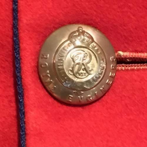 Edward VII Royal Engineers Dress Tunic image-3
