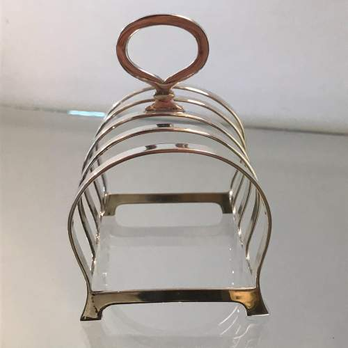 Silver Toast Rack by WM Suckling image-4