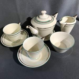 1930s Art Deco Tea for Two