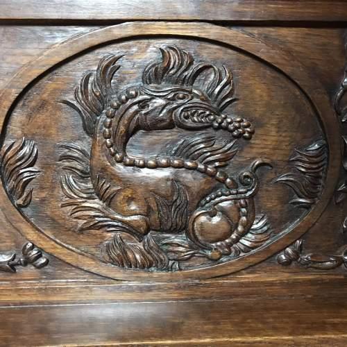 Carved Oak Book Rest image-4