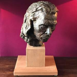 Daphne Probyn Plaster Sculpture of Carlos