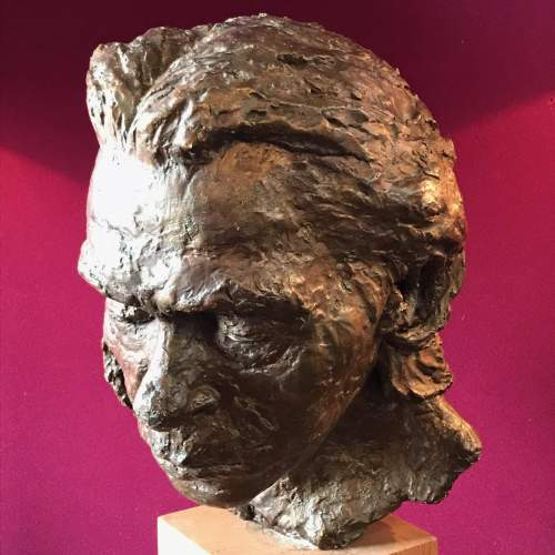 Daphne Probyn Plaster Sculpture of Carlos image-3
