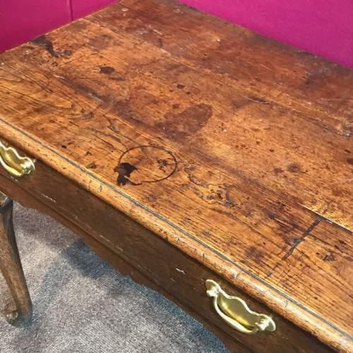 17th Century Oak Lowboy image-2