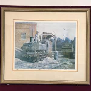 Cries Newydd Framed Signed Print by Ifor Pritchard
