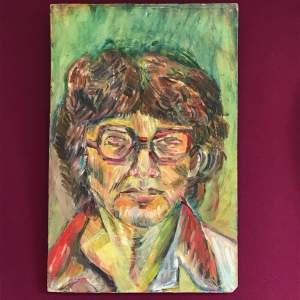 Sylvia Harris Impressionist Portrait