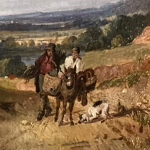 19th Century Landscape Oil Painting image-2