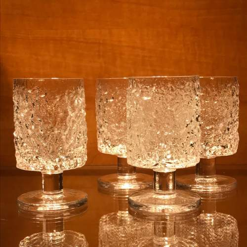Whitefriars Glass Decanter and Sherry Glasses image-4