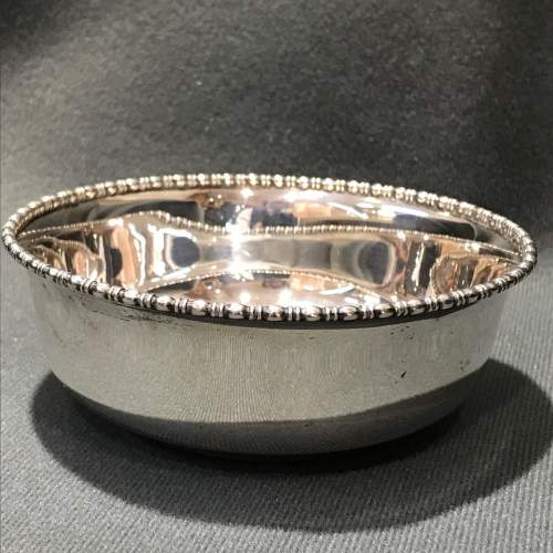 Early 1900s Sterling Silver Bowl image-1